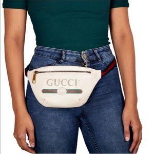Gucci Unisex's print belt bag/crossbody bag size95
